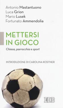 Promoartpalermo.it Mettersi in gioco. Chiesa, parrocchia e sport Image