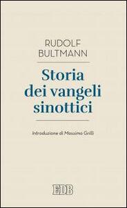 Foto Cover di Storia dei Vangeli sinottici, Libro di Rudolf Bultmann, edito da EDB