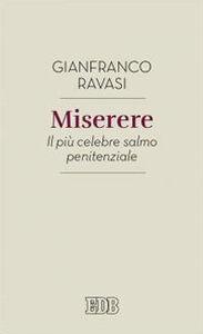 Libro Miserere. Il più celebre salmo penitenziale Gianfranco Ravasi