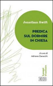 Libro Predica sul dormire in chiesa Jonathan Swift