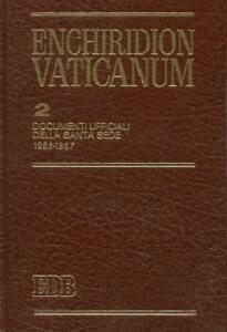 Enchiridion Vaticanum. Vol. 2: Documenti ufficiali della Santa Sede (1963-1967). - copertina