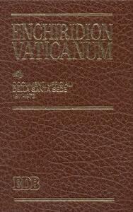 Enchiridion Vaticanum. Vol. 4: Documenti ufficiali della Santa Sede (1971-1973).