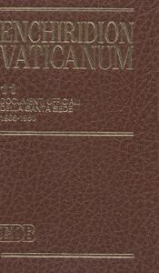 Enchiridion Vaticanum. Vol. 11: Documenti ufficiali della Santa Sede (1988-1989).