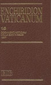 Enchiridion Vaticanum. Vol. 16: Documenti ufficiali della Santa Sede (1997).