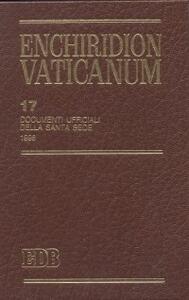 Enchiridion Vaticanum. Vol. 17: Documenti ufficiali della Santa Sede (1998).