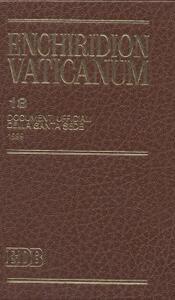 Enchiridion Vaticanum. Vol. 18: Documenti ufficiali della Santa Sede (1999). - copertina
