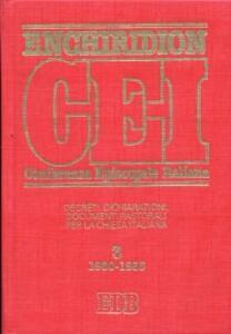 Enchiridion CEI. Decreti, dichiarazioni, documenti pastorali per la Chiesa italiana (1980-1985). Vol. 3 - copertina