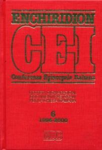 Enchiridion CEI. Decreti, dichiarazioni, documenti pastorali per la Chiesa italiana (1996-2000). Vol. 6 - copertina