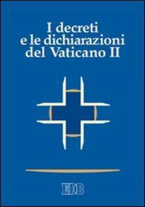 I decreti e le dichiarazioni del Vaticano II - copertina