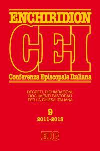 Enchiridion CEI. Decreti, dichiarazioni, documenti pastorali per la Chiesa italiana (2011-2015) - copertina