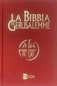 La Bibbia di Gerusalemme - copertina