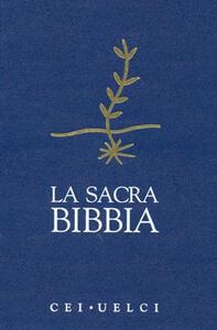 La Sacra Bibbia. UELCI. Versione ufficiale della Cei - copertina