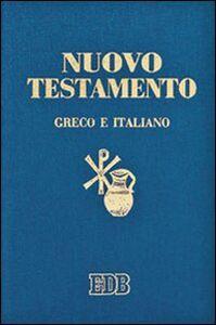 Libro Nuovo testamento. Testo greco a fronte