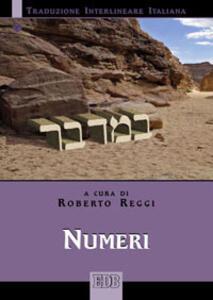 Numeri. Versione interlineare in italiano - copertina