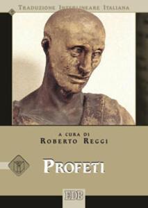 Profeti. Versione interlineare in italiano - copertina