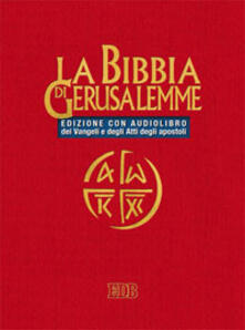 Mercatinidinataletorino.it La Bibbia di Gerusalemme CD Audio. Con Audiolibro Image
