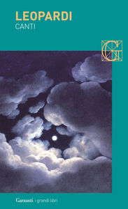 Foto Cover di Canti, Libro di Giacomo Leopardi, edito da Garzanti Libri
