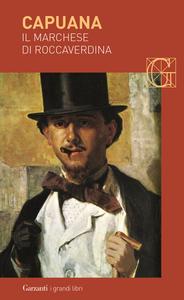 Libro Il marchese di Roccaverdina Luigi Capuana