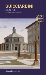 Ricordi - Francesco Guicciardini - copertina
