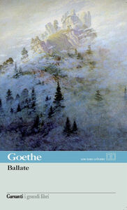 Libro Ballate J. Wolfgang Goethe