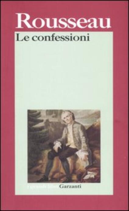 Le confessioni - Jean-Jacques Rousseau - copertina