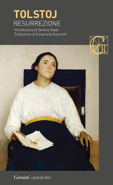 Resurrezione - Lev Tolstoj - copertina