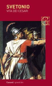 Libro Vita dei Cesari C. Tranquillo Svetonio