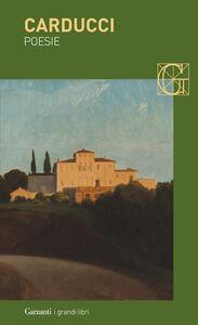 Libro Poesie Giosuè Carducci