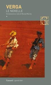 Le novelle. Vol. 1 - Giovanni Verga - copertina
