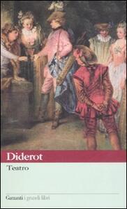 Teatro - Denis Diderot - copertina