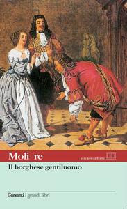 Libro Il borghese gentiluomo. Testo francese a fronte Molière