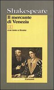 Il mercante di Venezia - William Shakespeare - copertina