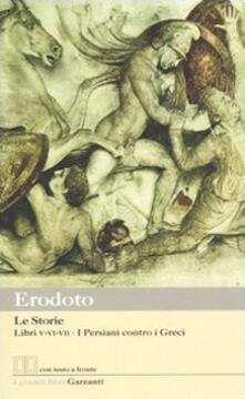 Voluntariadobaleares2014.es Le storie. Libri 5°-6°-7°: I Persiani contro i Greci. Testo greco a fronte Image