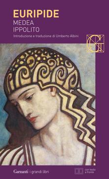 Medea-Ippolito. Testo greco a fronte - Euripide - copertina