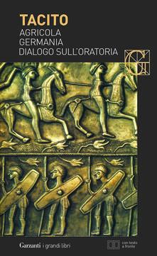 Camfeed.it Agricola-Germania-Dialogo sull'oratoria. Testo latino a fronte Image