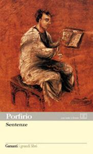 Libro Sentenze. Testo greco a fronte Porfirio