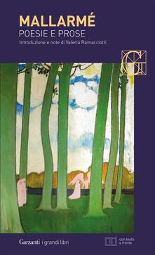 Poesie e prose. Testo francese a fronte - Stéphane Mallarmé - copertina
