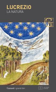 Libro La natura. Testo latino a fronte Tito Lucrezio Caro
