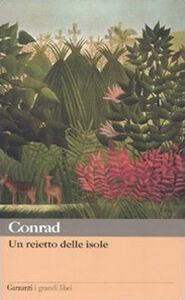 Libro Un reietto delle isole Joseph Conrad