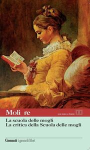 Libro La scuola delle mogli-La critica della scuola delle mogli. Testo francese a fronte Molière