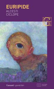 Libro Alcesti-Ciclope. Testo greco a fronte Euripide