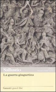 La guerra giugurtina. Testo latino a fronte
