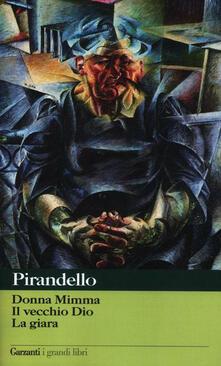 Steamcon.it Novelle per un anno: Donna Mimma-Il vecchio Dio-La giara Image