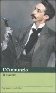 Il piacere - Gabriele D'Annunzio - copertina