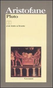 Libro Pluto. Testo latino a fronte Aristofane