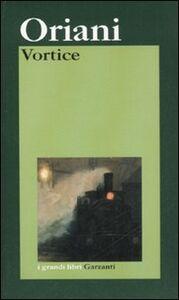 Libro Vortice Alfredo Oriani