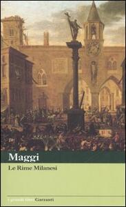 Rime milanesi - Carlo M. Maggi - copertina