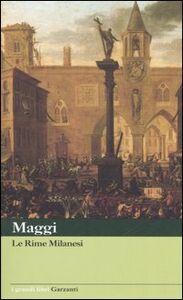 Libro Rime milanesi Carlo M. Maggi