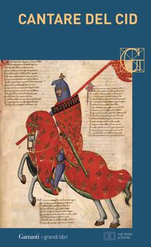 Ascotcamogli.it Cantare del Cid. Testo spagnolo a fronte Image