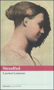 Foto Cover di Lucien Leuwen, Libro di Stendhal, edito da Garzanti Libri